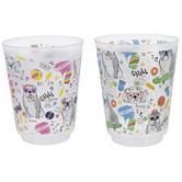 Pug Dog Confetti Cups