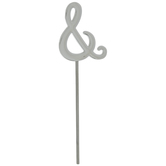 Symbol Metal Cake Topper - Ampersand