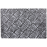 Black & White Geometric Placemat