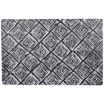 Black & White Geometric Placemat