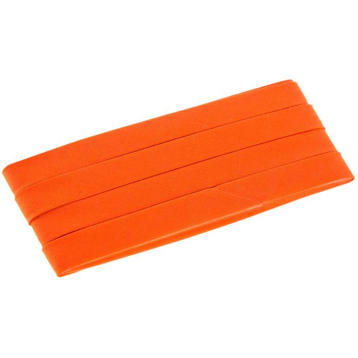 Leaf bias tape Orange and Turquoise Leaves 12 Double Fold Bias Tape 3 yards OrangeTurquoise leaf 12 double fold bias tape