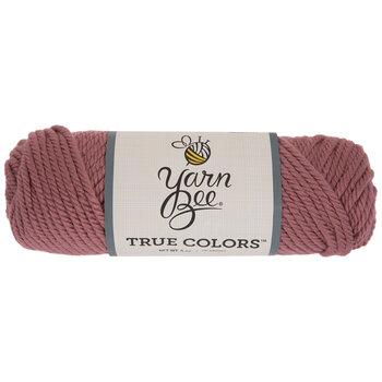 Mauve Yarn Bee True Colors Yarn