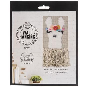 Llama Crochet Wall Hanging Kit