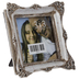 Silver Rustic Frame With Deco Edge - 3