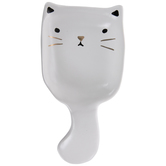 White Cat Spoon Rest