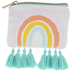 Rainbow Pouch With Tassels
