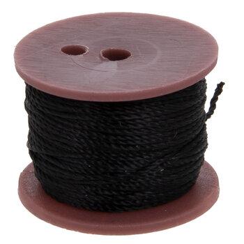 Black Sewing Awl Thread