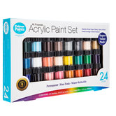 All Purpose Acrylic Paint - 24 Piece Set