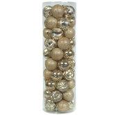 Gold Matte, Shiny & Glitter Ball Ornaments