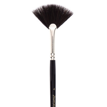 Synthetic Squirrel Fan Paint Brush