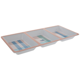 Southern Marsh Plaid Divided Tray