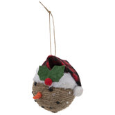 Jute Snowman Ornaments
