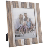 "Plank Striped Wood Wall Frame - 8"" x 10"""