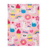 Unicorn Pool Party Felt Sheet