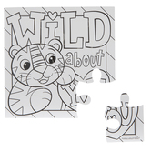 Wild About You Coloring Puzzles