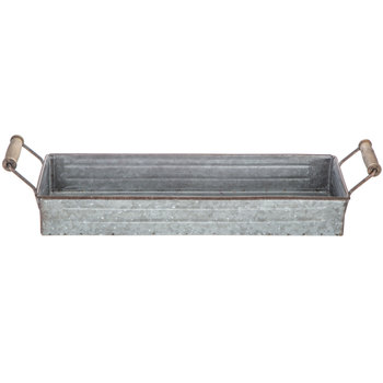 Long Galvanized Metal Container