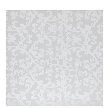 White Pearlized Filigree Gift Wrap