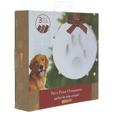 Clay Paw Print Ornament Kit