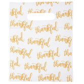 Thankful Zipper Bags With Handles
