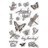Love Bugs Clear Stamps