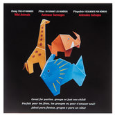 Wild Animals Fold By Number Origami Paper
