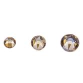 Crystal Golden Shadow Swarovski Xirius Flat Back Hotfix Crystals Mix
