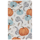 Pumpkins, Gourds & Leaves Tablecloth