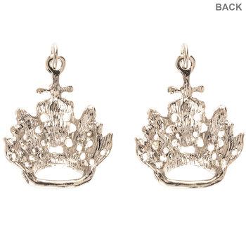 Rhinestone Crown Charms