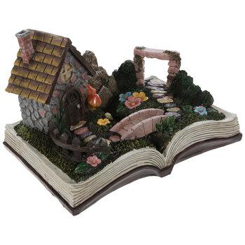 Gnome Fairy Garden Book Decor