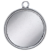Ornate Edge Circle Bezel - 38mm