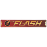 The Flash Metal Sign