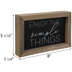 Enjoy The Simple Things Wood Wall Decor
