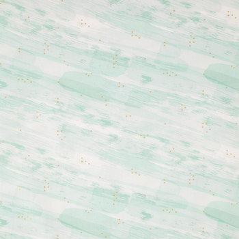 Gold Star In The Sea Cotton Fabric