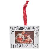 Christmas 2020 Frame Ornament