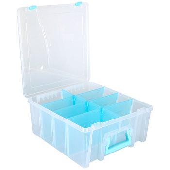 Super Satchel Double Deep Storage Box