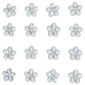 Flower Rhinestone Stickers
