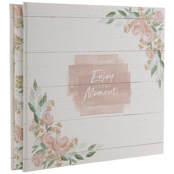 "Enjoy Every Moment Post Bound Scrapbook Album - 12"" x 12"""