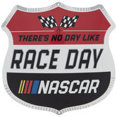 Nascar Race Day Metal Sign