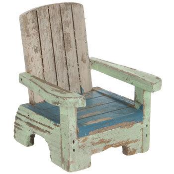 Rustic Wood Beach Chair
