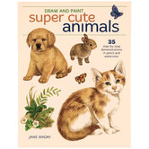 Draw & Paint Super Cute Animals