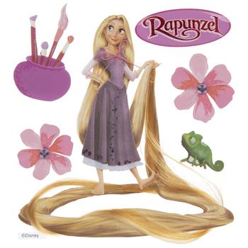 Rapunzel 3D Stickers