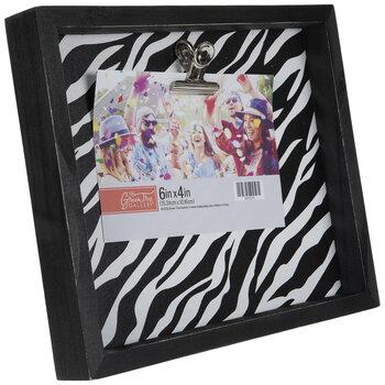 Zebra Print Wood Clip Frame 6 X 4 Hobby Lobby 2010270