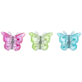 Multi-Color Butterfly Claw Hair Clips