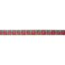 Red Plaid Ribbon - 1 1/2