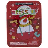 Dress Up Snowman Game