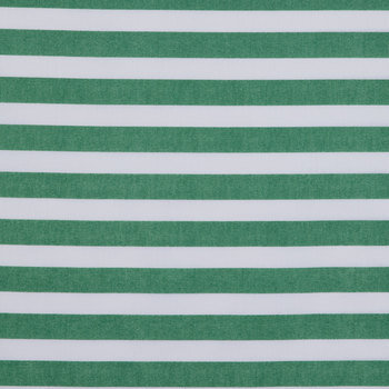 Green Textured Striped Apparel Fabric