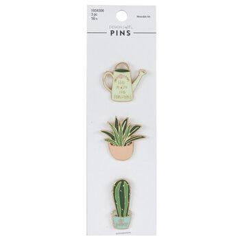 Plant Enamel Pins