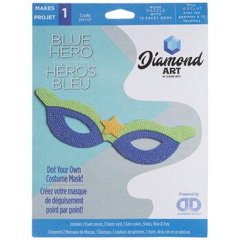 Blue Hero Mask Diamond Art Kit