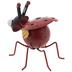 Red Metal Ladybug