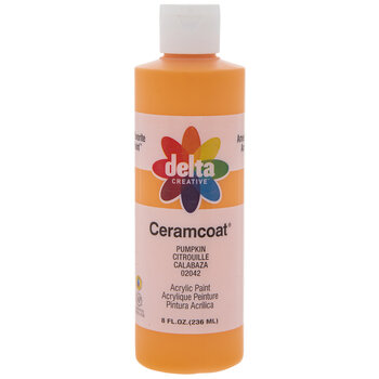 Pumpkin Ceramcoat Acrylic Paint - 8 Ounce
